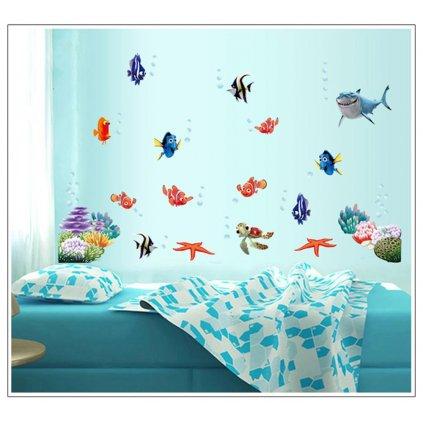 Samolepka Nemo, Dory a priatelia