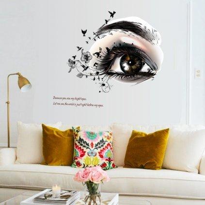 samolepka na stenu Oko nádeje