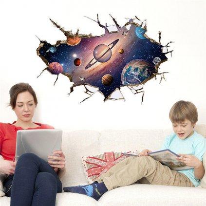 samolepka Planéty a vesmír