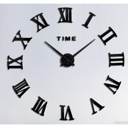 Samolepiace hodiny rímske číslice