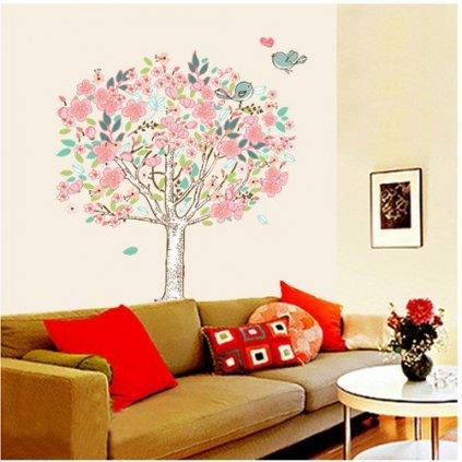 Samolepka Rozkvitnutý strom