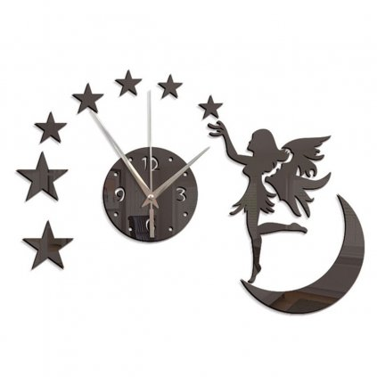 Nástenné hodiny Mesiac
