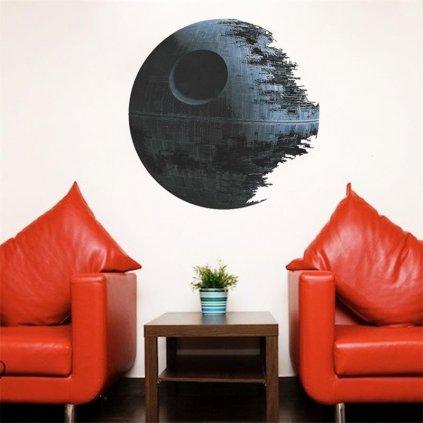 Samolepka Star Wars Hviezda smrti