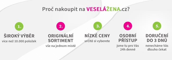 Proč nakoupit na VESELÁŽENA.cz?