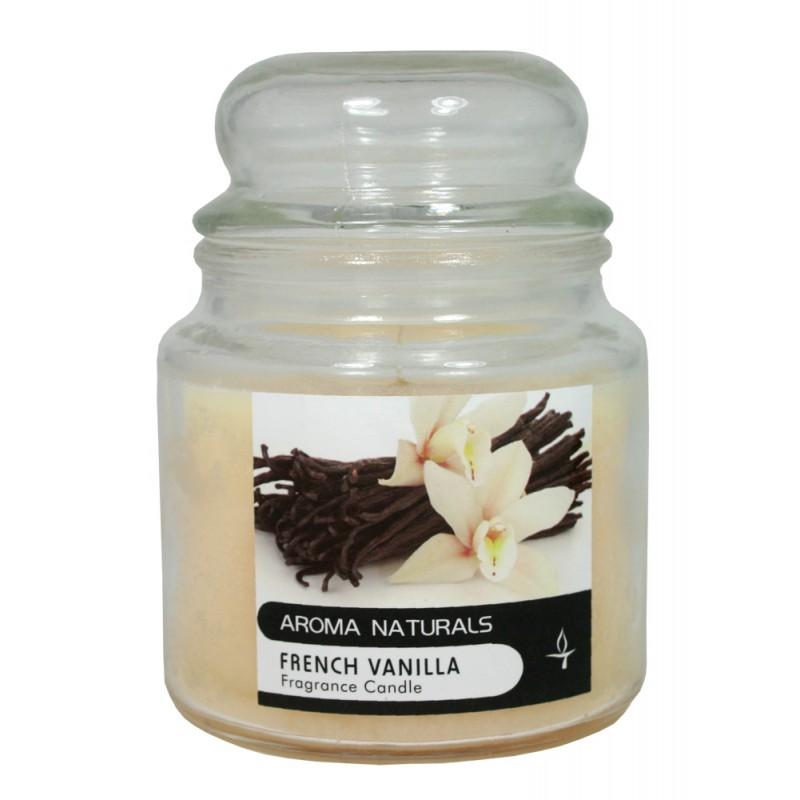 Vonné svíčky ve skle Aroma Naturals