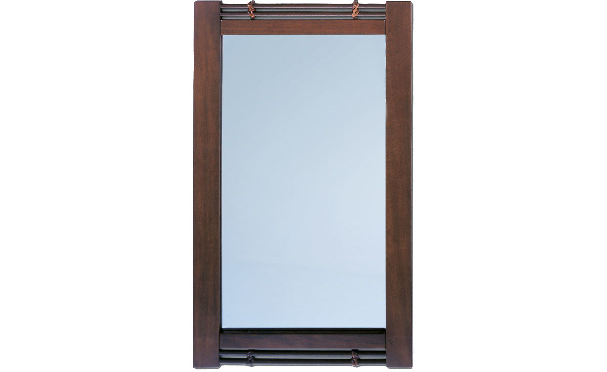 Zrcadla ve dřevěném rámu
