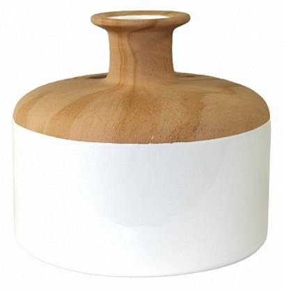Dřevěné vázy