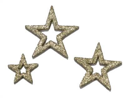 Hvězdy - vánoční ozdoby