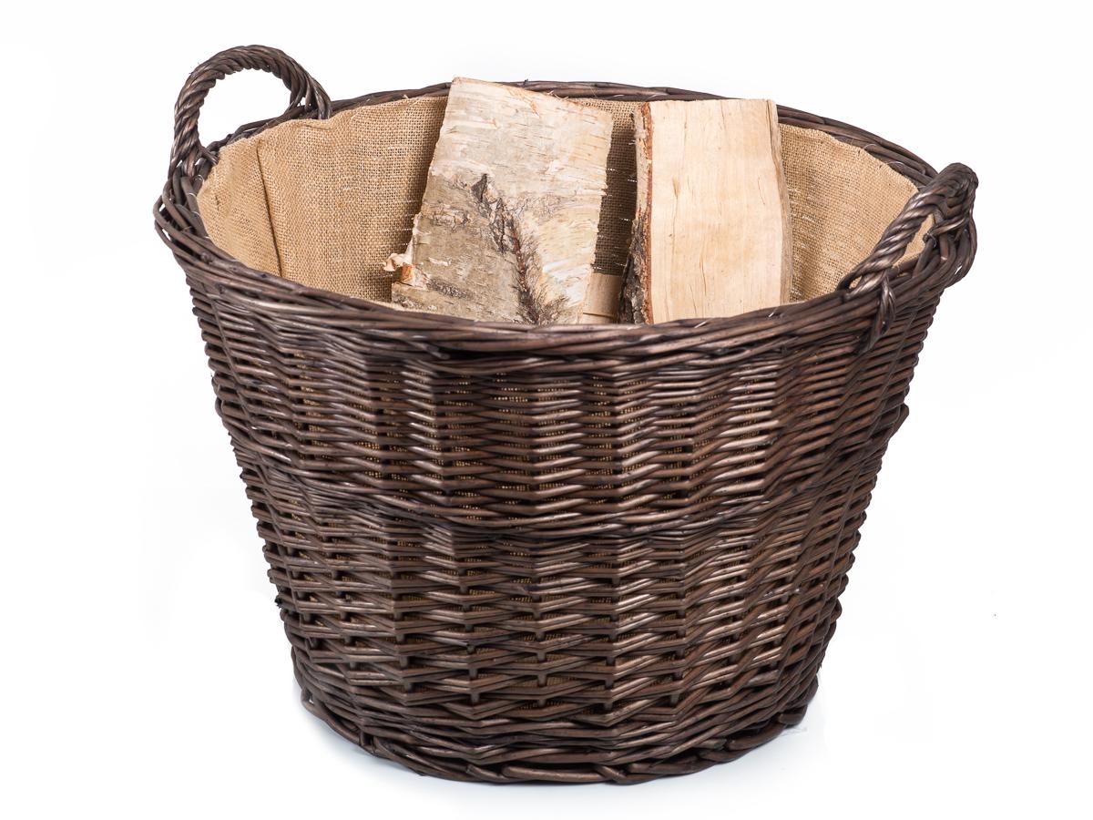 Koše a nosiče na dřevo