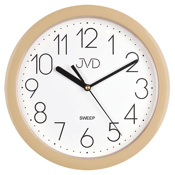 Plastové hodiny