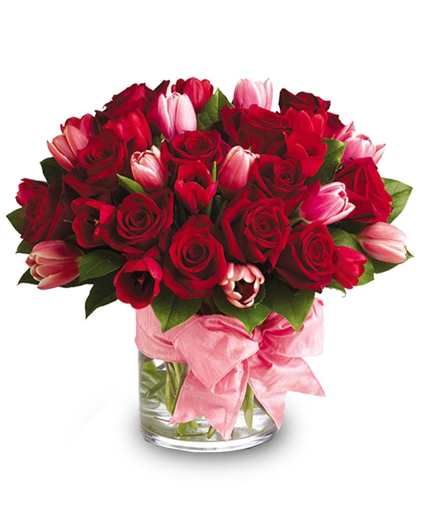 Valentýnské květiny