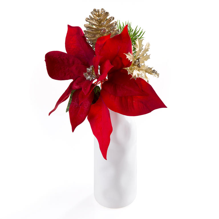 Vánoční kytičky