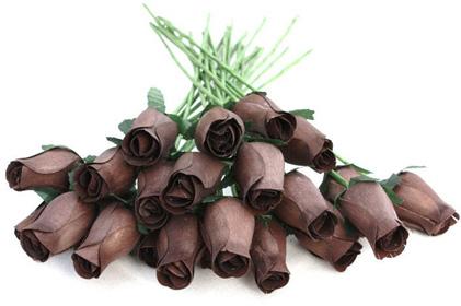 Dřevěné růže