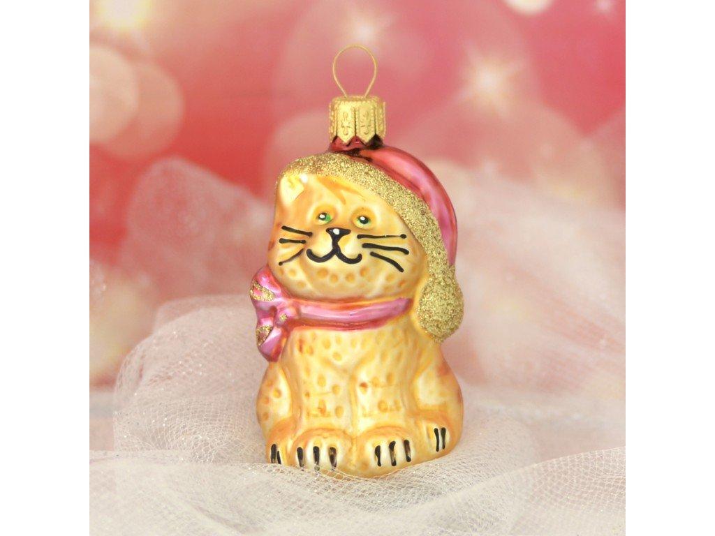 Zlato velké kočička rty