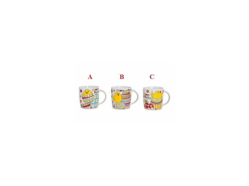 Hrnek velikonoční | s kuřátkem | 350ml | 3 varianty (Provedení C)