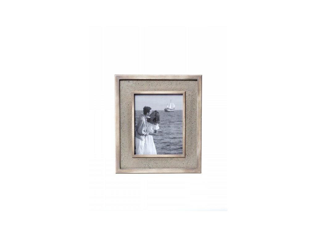 Fotorámeček | hnědý | 34x39cm