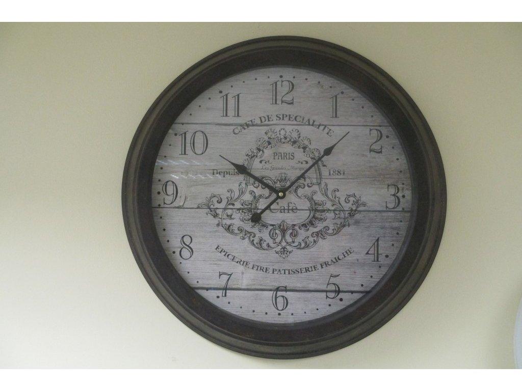 13743 hodiny cafe paris 56x9cm