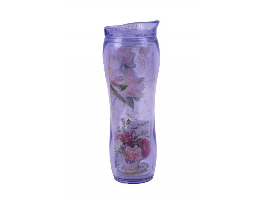 Termoláhev s růží 24x8cm