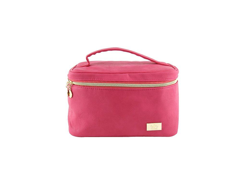 Kosmetická taška | Elite Models | ASST | 26x15x16xm | Růžová nebo šedá