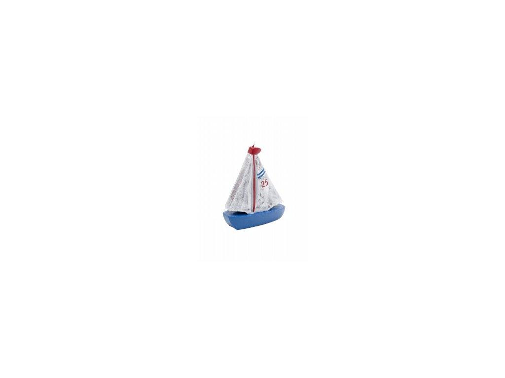 Svíčka | plachetnice | 14x16x6cm