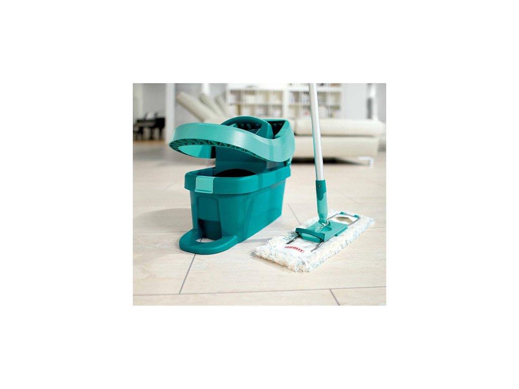 podlahov mop leifheit profi micro duo v ka 166cm z b r 42cm vesel. Black Bedroom Furniture Sets. Home Design Ideas