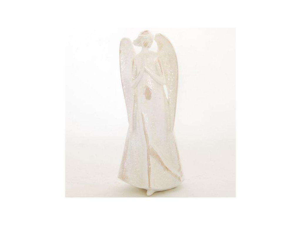 Anděl stojící 22cm