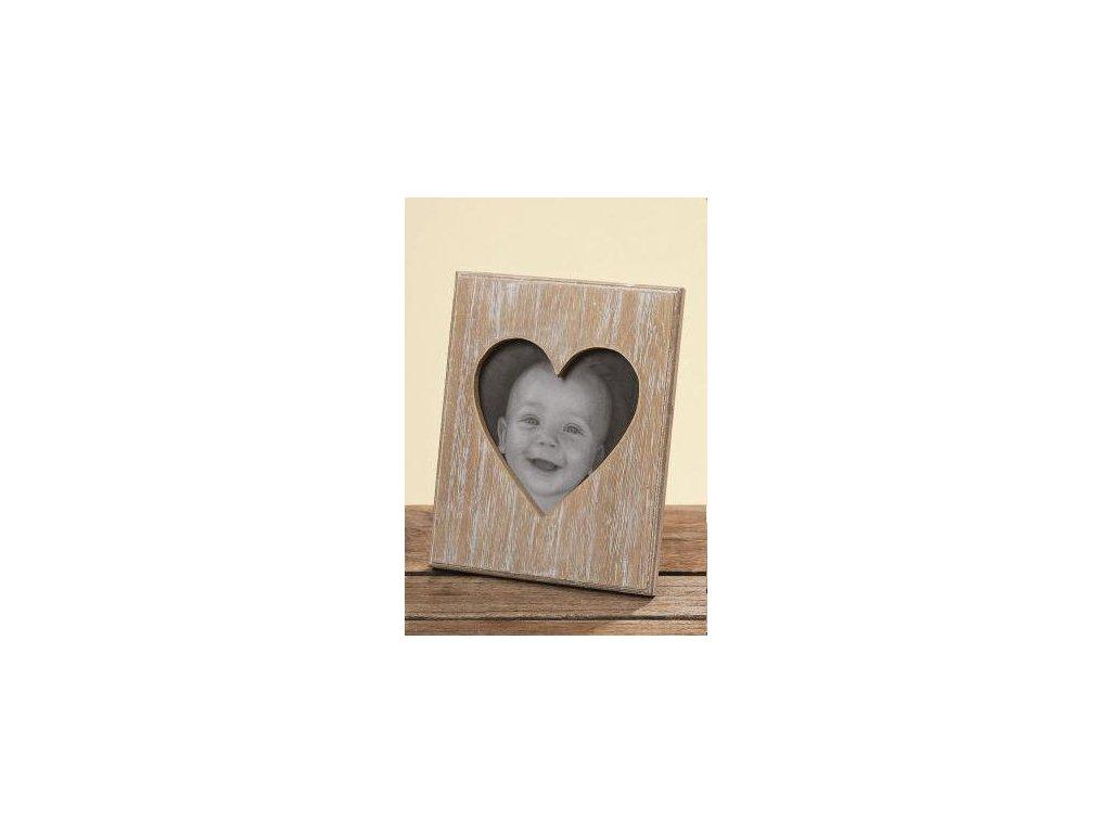 fotorámeček srdce Alia 16x12cm