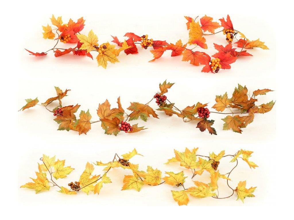 Podzimní girlanda, 167cm