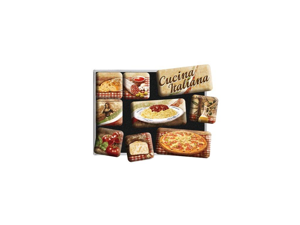Magnetky na ledni ku cucina italiana vesel for Cucina italiana