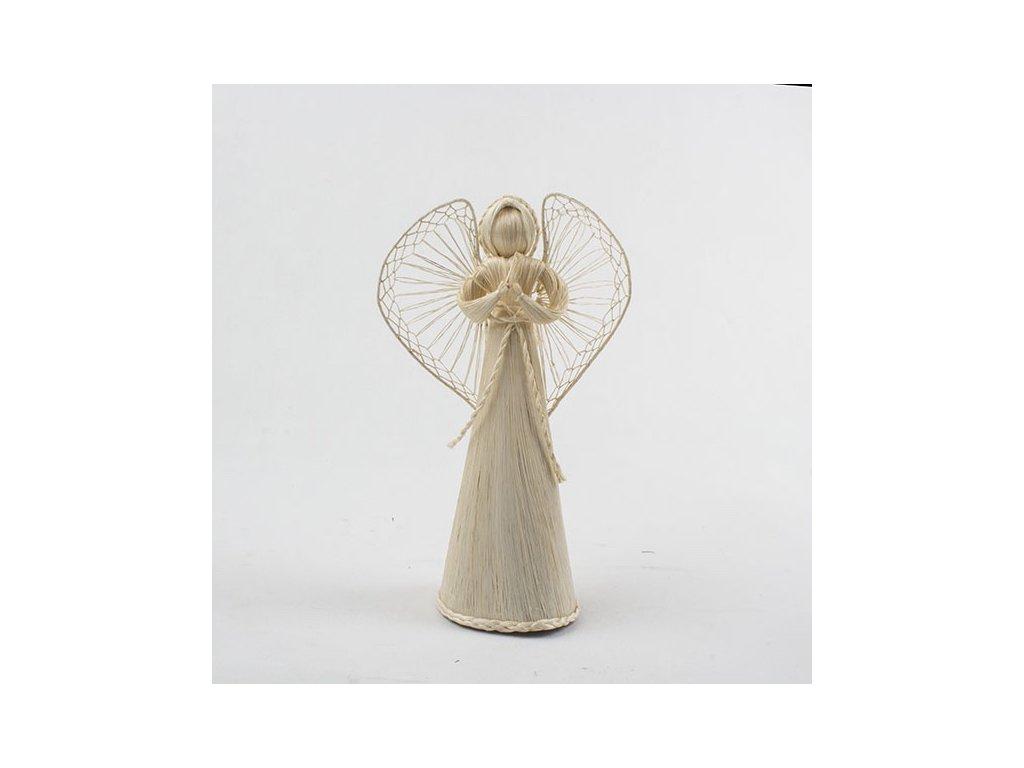 Anděl | slaměný | tři velikosti