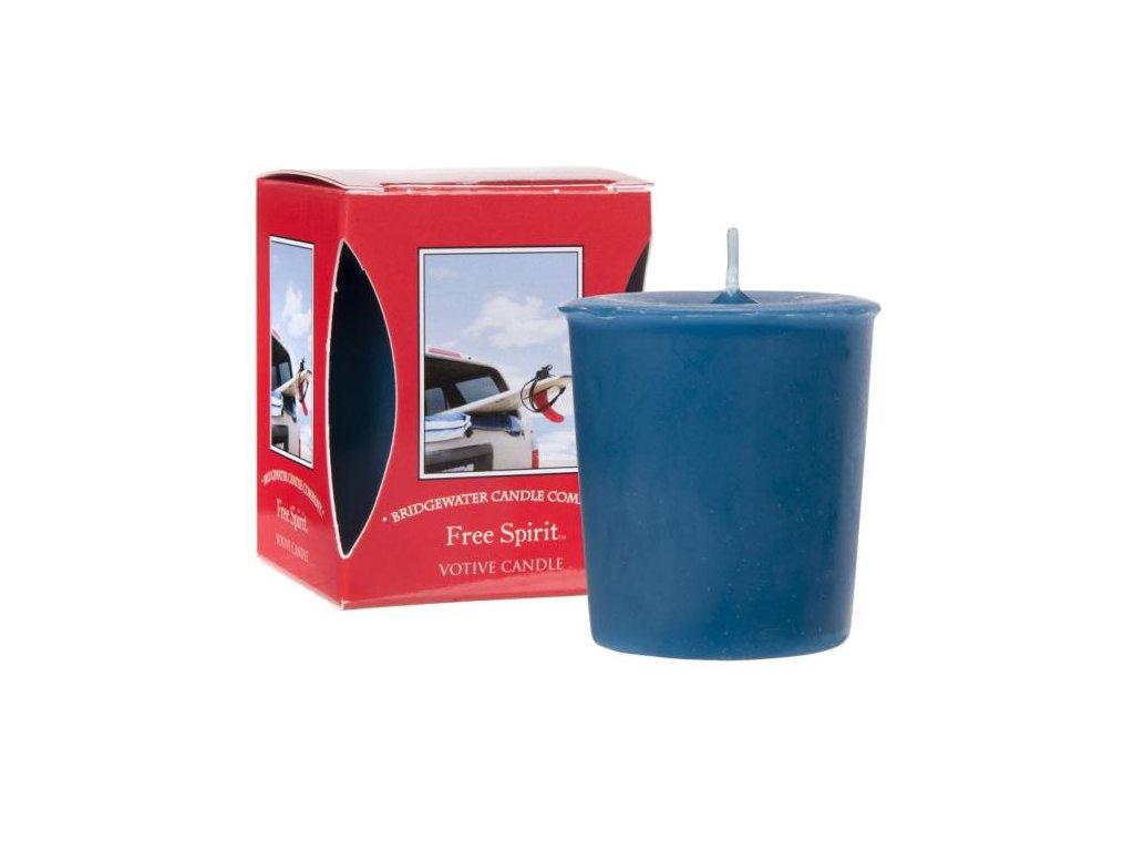 Votivní svíčka FREE SPIRIT 56g