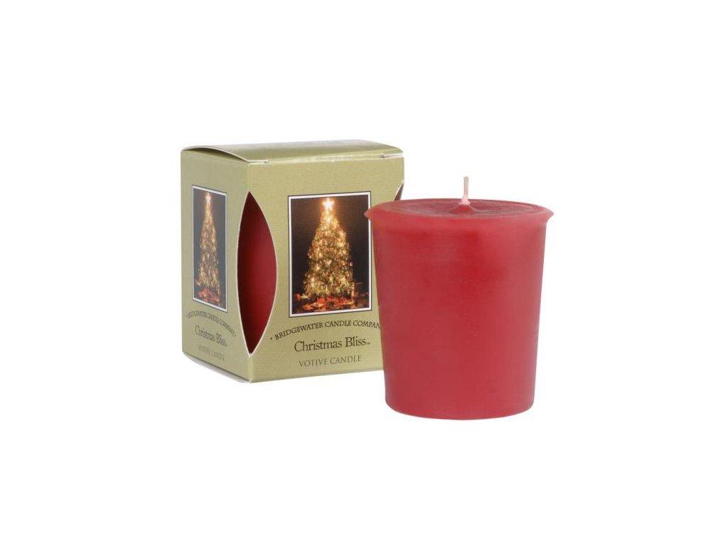Votivní svíčka CHRISTMAS BLISS 56g