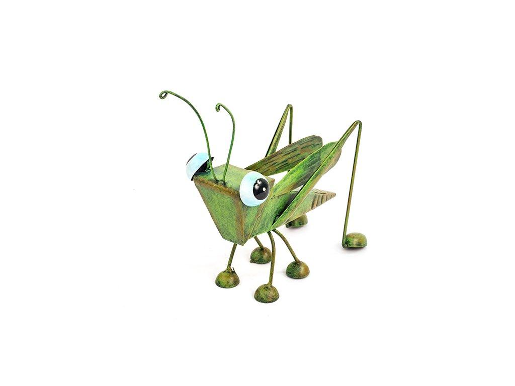 Kobylka Zahradní Dekorace Kov 17x18x9cm