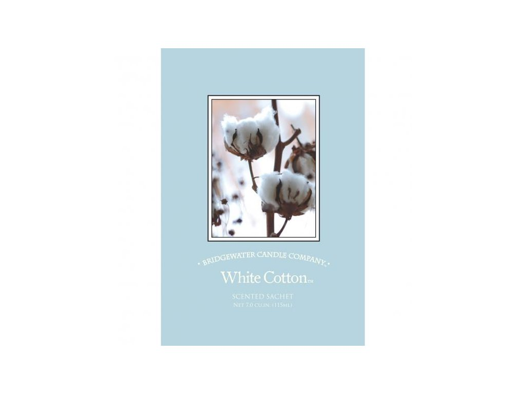 Vonný sáček BAVLNA WHITE COTTON 115ml