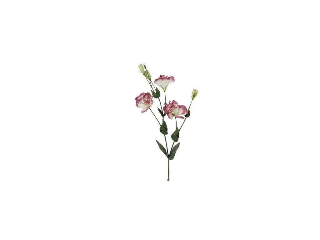 ZED 914139; květina umělá LISIANTHUS, d.67cm