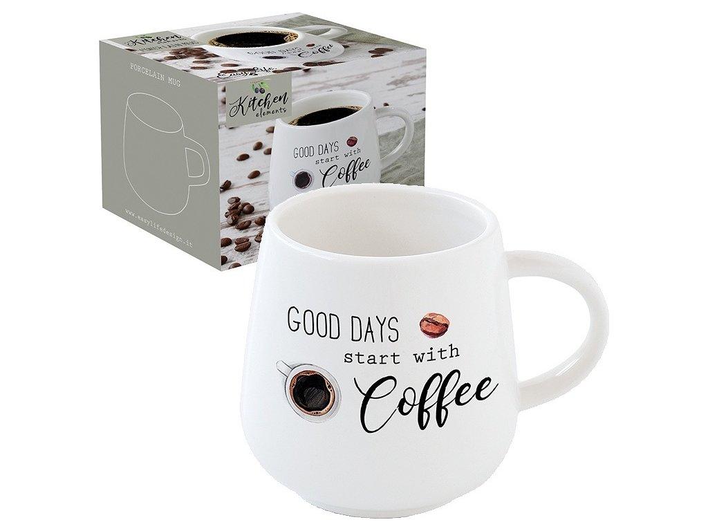 Porcelánový hrnek na kávu Kitchen Elements
