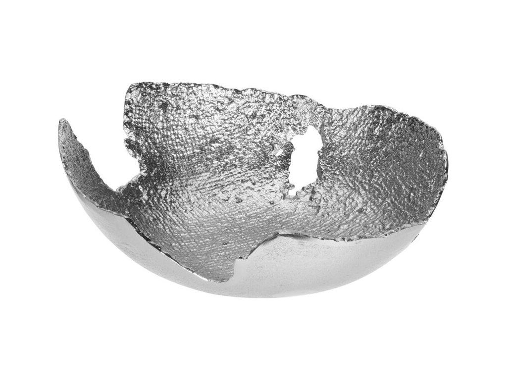 Aluminiová mísa stříbrná A