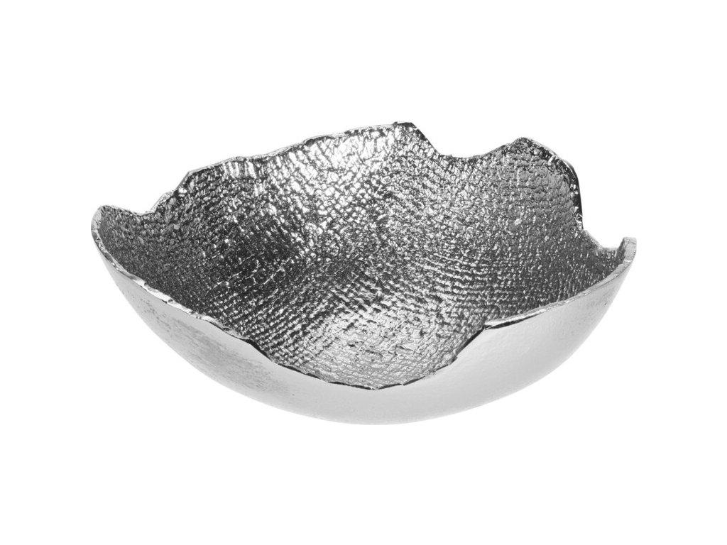 Aluminiová mísa stříbrná B