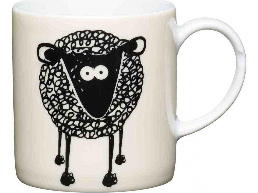 Porcelánový hrníček na espresso Sheep