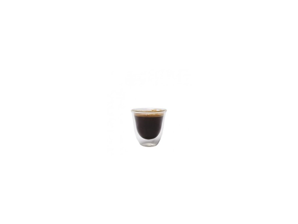 Sklenička na espresso   dvouplášťová   La Cafetiére   sada 4ks