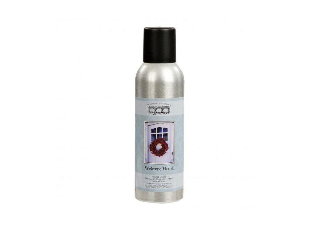 Pokojový parfém WELCOME HOME   sprej   5x5x15cm   170g   177ml