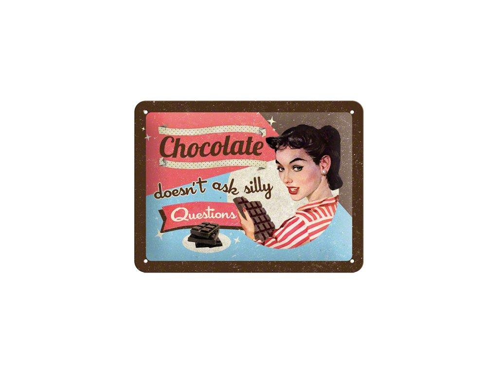 Plechová cedule Chocolate