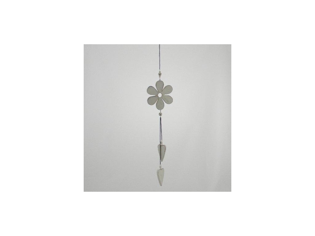 Závěsná dekorace KVĚTINA 45cm