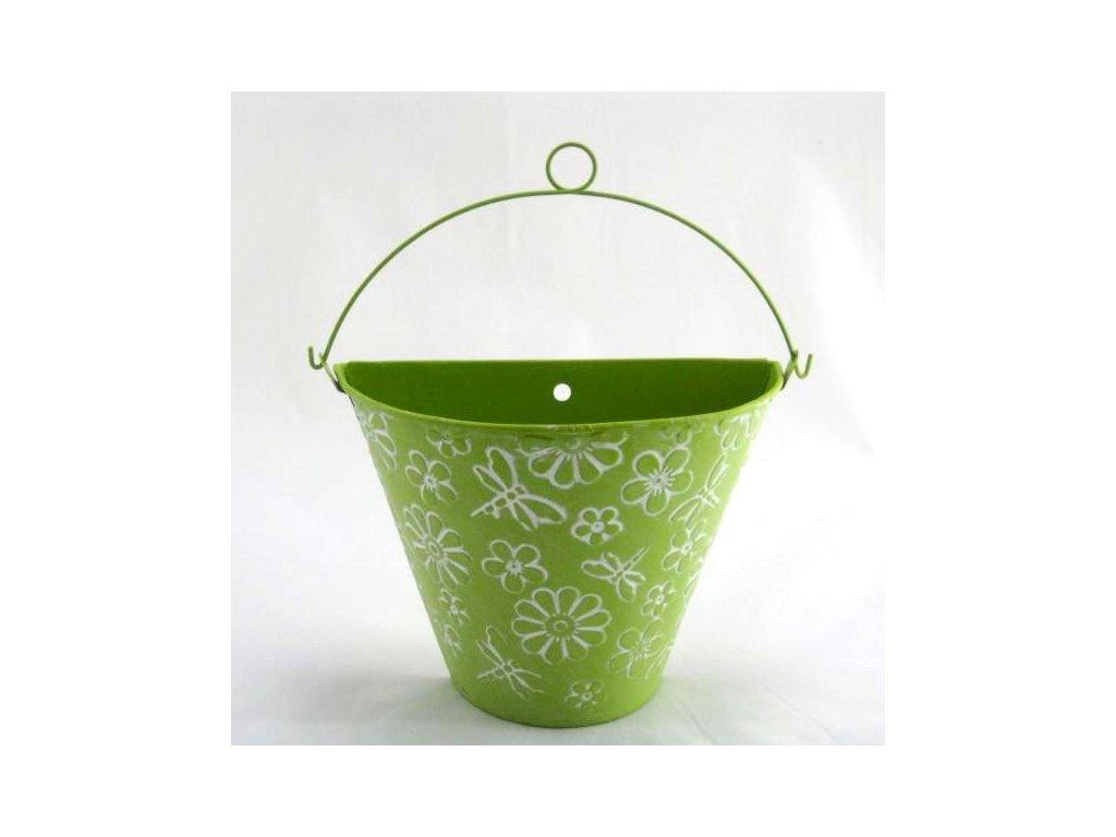 Květináč zelená barva