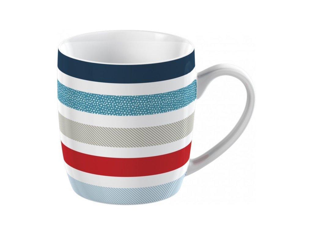 Hrnek porcelánový Blue Stripe