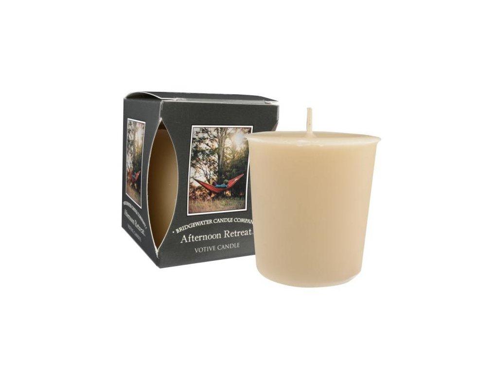 Votivní svíčka AFTERNOON RETREAT   5x5cm   56g   15h
