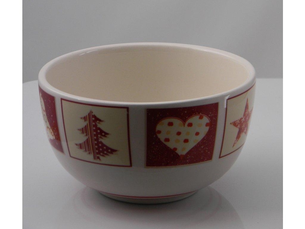 Keramická miska s vánočním motivem 250ml
