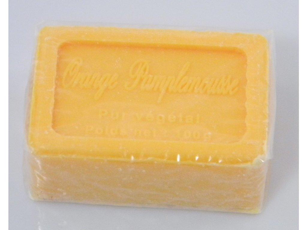 Mýdlo francouzské přírodní | pomeranč a grapefruit