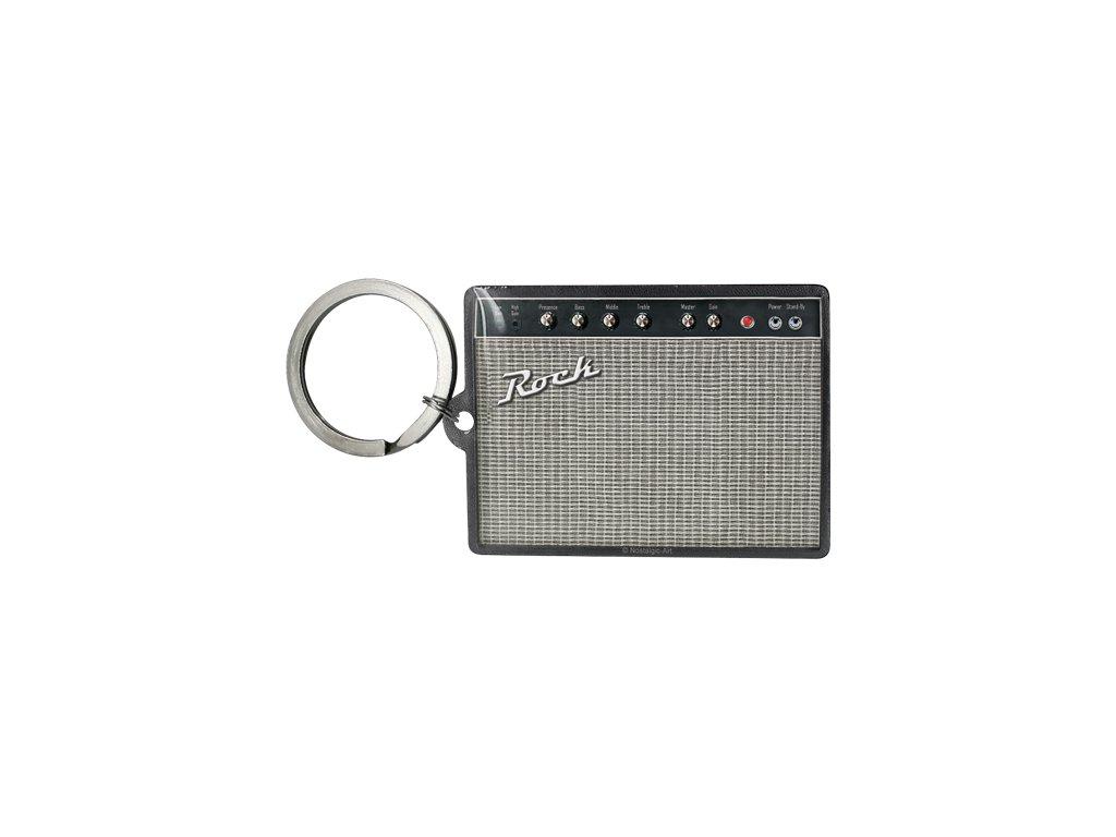 Klíčenka 4x6 cm Radio