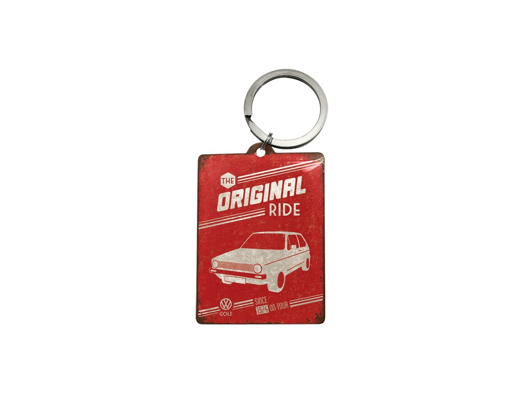 Klíčenka 4x6 cm VW The Original Ride 1974